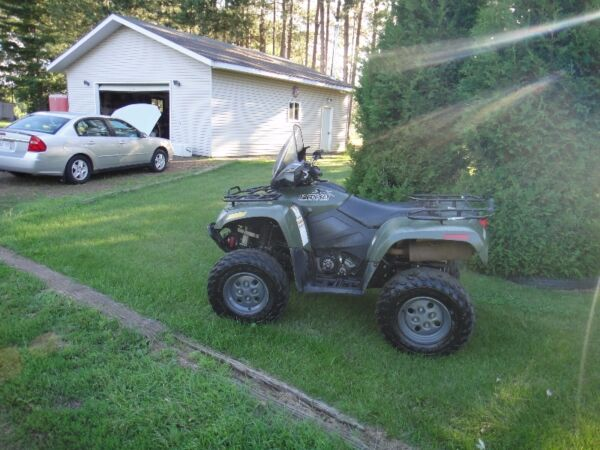 Used 2009 Arctic Cat 500 Manual Shift