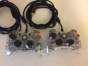 Wired Xbox 360/PC Controllers
