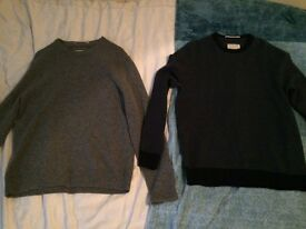 X2 Racing Green 80% Lambswool jumpers
