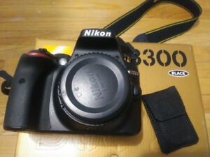 NIKON D3300 BODY FOR SALE