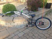 Giraffe pour velo Trail-a-bike Remorque Rallonge