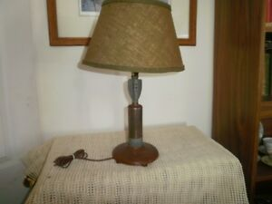 Trench Art WW2 lamp