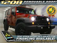 2014 Jeep Wrangler Unlimited Sport Manual | 4x4 | Touch Radio