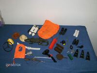 LOT OF G.I. JOE ACCESSORIES-UNIQUE & COLLECTIBLE-DOLLS-TOYS