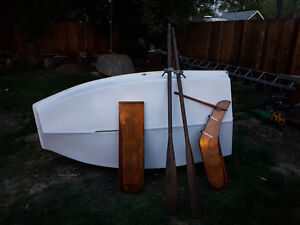 Western Canadian Small Craft sabot style sailing dinghy