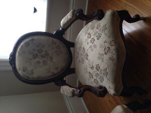 Two antique chairs for sale
