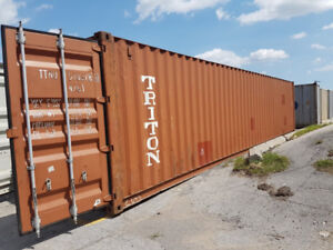 Shipping and Storage Containers