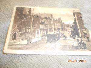 20 very old postcard one dated 1916 it from kitchener