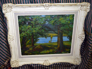 Frank Shirley Panabaker ORIGINAL Gorgeous Painting on Canvas