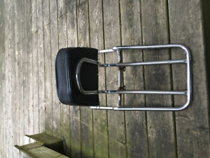 Old school adjustable back rest off 1976 Kawasaki KZ 900
