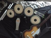 Xbox 360 rock band and console Xbox console and Wii