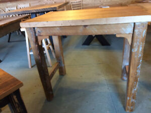 Reclaimed Wood Island or Work Station