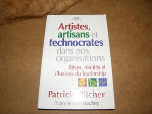 Livre Artistes, Artisants et Technocrates dans nos Organisations