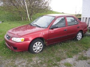 2000 Toyota Corolla for Parts