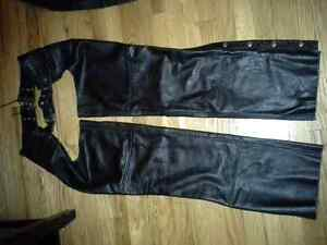 3  Sets of Screaming Eagle Leather Chaps (Benefits SPCA)