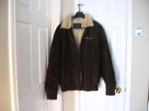manteau cuir véritable S