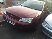 FORD MONDEO BURGUNDY ALL PARTS AVAILABLE SPARES BOOT WINDOW DOOR BONNET HEADLIGHTS WHEELS INTERIOR