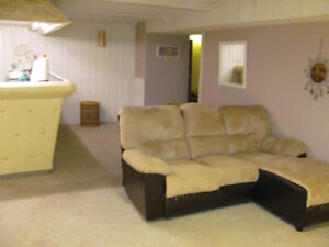 Partially Furnished Basement Suite In Southwood SW