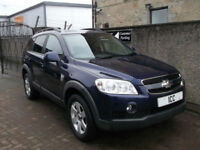 2011 CHEVROLET CAPTIVA 2.0 VCDI LT TURBO DIESEL 5DR 7 SEATER LEATHER BLUETOOTH
