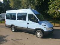 Iveco DAILY 40C12 2006 06 minibus wheelchair 41000 ideal camper