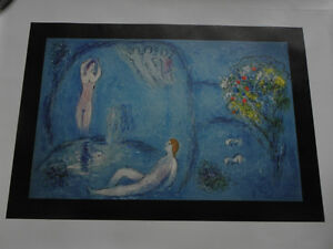 Marc Chagall The Nymph's Cave