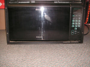 Used Dometic RV Microwave with trim