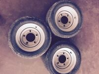 Ifor Williams trailer wheels X 6