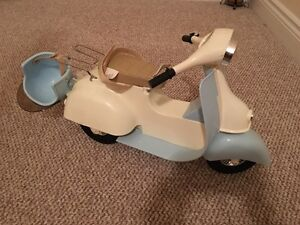 """Like new 18"""" doll scooter"""
