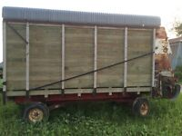 REDUCED PRICE!! Dion 4 beater forage wagon