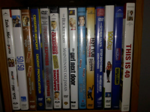 Dvds and BluRays for sale-renfrew