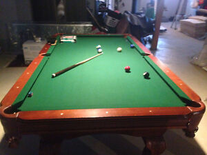 Pool Table and Gear - Excellent Condition - $1,000