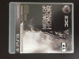 Medal of honor ps3 inclus medal on honor frontline10$ ou echange