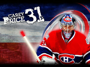 Billets Canadiens vs Sharks Section VIP Desjardins Rangée A !!