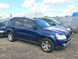 2008 PONTIAC TORRENT AWD ONLY 170000 KMS ALL SEASON TIRES