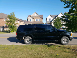 Ford Excursion V10 6.8L 8 seater F250 Frame. Trailer brakes