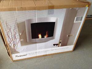 Gel Fuel Wall Mount Fireplace