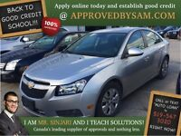 "Newer Chevrolet Cruze - TEXT ""AUTO LOAN"" TO 519 567 3020"