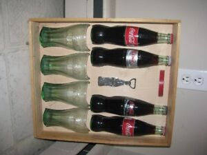 COCA COLA GIFT SET WITH WOOD CASE