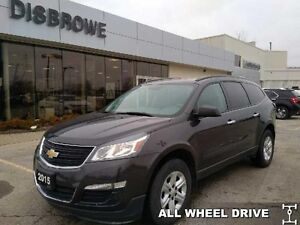 2015 Chevrolet Traverse LS   8 Passenger, Bluetooth, Backup Cam