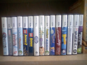 Nintendo DS games in boxes - 5$ each