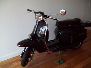 Lambretta scooter fully refurbished