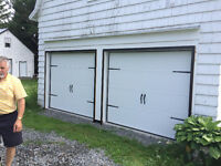 New and used garage doors