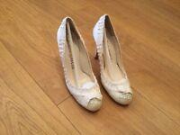Pedro Garcia - Wedding shoes Size 3 ( Designer RRP Above £365.00 )