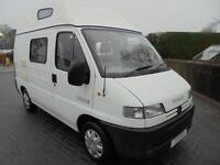 Peugeot Leisuredrive Voyager 2 berth campervan for sale PRICE REDUCED