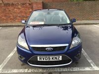 FORD FOCUS 2.0 CONVERTIBLE FULL FORD SERVICE HISTORY NEW MOT