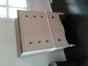 2 ANTIQUE DRESSERS EARLY 1900'S