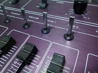 Vintage DJ Mixer Telec MX-3 pré-amplificateur table tournante