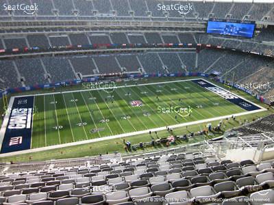 4 Upper Sideline New York Giants PSL s PSL - Section 316 89be1ea50