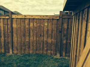 Post Hole Digging in the Area.  Fences built or Deck Footings Cambridge Kitchener Area image 8