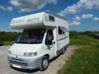 Fiat Mobilvette Topdriver 52, 4 Berth Motorhome REDUCED BY £1500 20-05-18